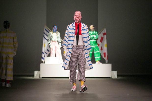 Anouk van Klaveren, fashion photography, models, Das Leben am Haverkamp, catwalk, Amsterdam Fashion Week, colorful, clothing, model, no face