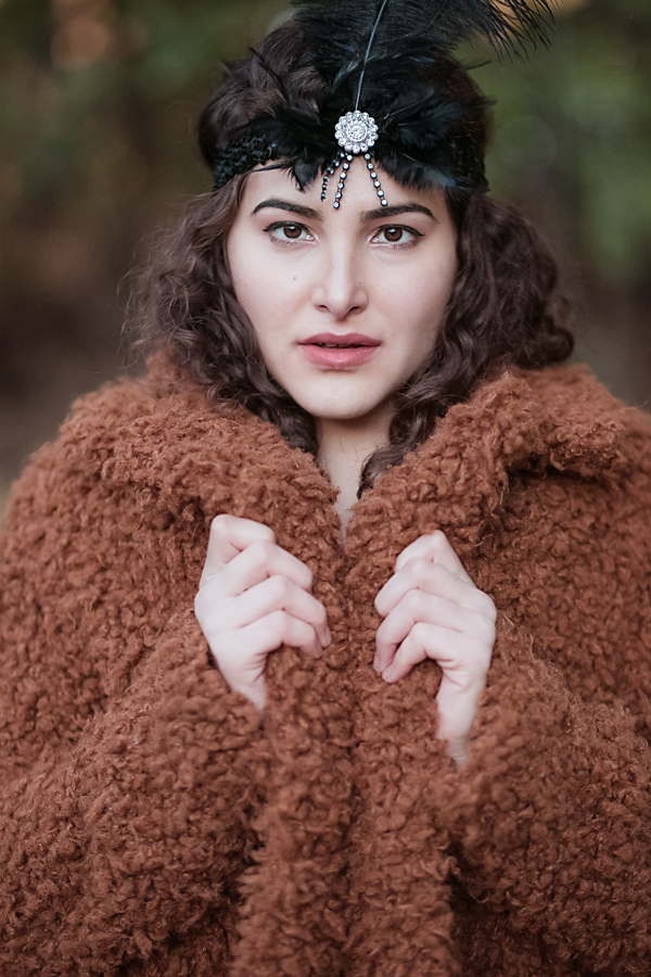 old fashioned, Brooklyn style, Brooklyn, fashion photogprahy Amsterdam, brown, dark, winter, surreal, magical, fantasy, feather, curly hair, fashion photographer