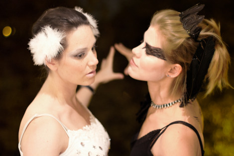 Halloween 2011: White Swan – Black Swan