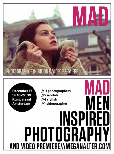 Mad Photography Exhibition & Video Premiere Invitation