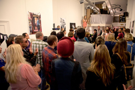Great Gatsby: Exhibition Party
