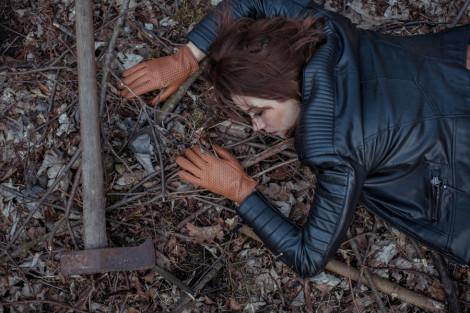 Rebeka in the Woods, Fashion Photo Shoot