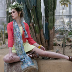 Among the Cacti: Fashion Photo Shoot