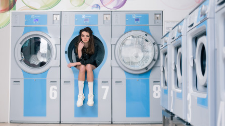 Clean laundry fashion shoot – Amsterdam