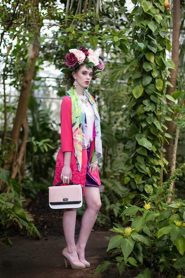 fashion at the Hortus Botanicus, Amsterdam